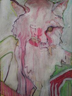 "Saatchi Online Artist Laurel Gallagher; Painting, ""Fox Goddess"" #art Selling Art Online, Saatchi Online, Art For Sale, Saatchi Art, Original Artwork, Fox, Goddess Art, Sculpture, Drawings"