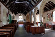 St Just in Roseland - interior St Just, Exeter, England, Places, Interior, Photos, Lugares, Indoor, Pictures