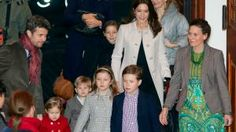 Crown Prince Frederik and family attend annual Christmas show 12/15/13