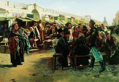 """Владимир Егорович Маковский (1846–1920). """"В полдень."""" 1875 г."""