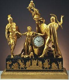 Reloj de la chimenea colección Real Londres