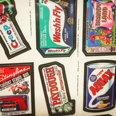 Wacky Packs No. 1 #nostalgia #vintage #stickers