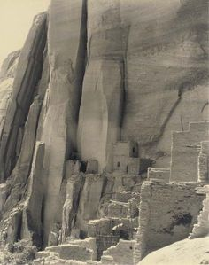 (via ✧Art Board 01.13✧ / Laura Gilpin (1891-1979) Cliff Dwelling of Betatakin, Navajo National Monument, Arizona 1930)