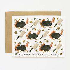 Runaway Turkey Card