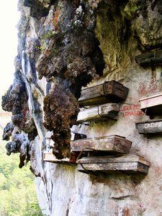 Hanging Coffin, Sagada, Mountain Province, Philippines