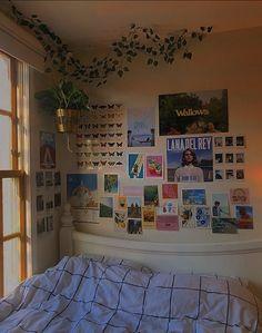 Cute Room Ideas, Cute Room Decor, Room Ideas Bedroom, Bedroom Inspo, Bedroom Designs, Girls Bedroom, Indie Room, Chill Room, Retro Room
