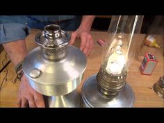 Aladdin lamps final assembly