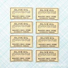 vintage_pharmacy_medicine_labels_for_olive_oil_1900_aebe5728.jpg (500×500)