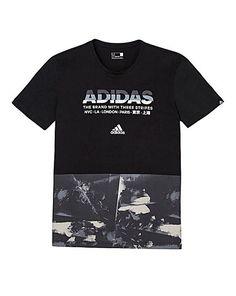 Adidas All-Over Print T-Shirt | Jacamo