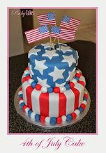 of July Cake 4th Of July Cake, Cake Stuff, Birthday Cake, Cakes, Desserts, Food, Birthday Cakes, Meal, Deserts