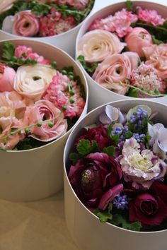 Stunning boxed flowers - great gift for your mum and new mother in law :) x