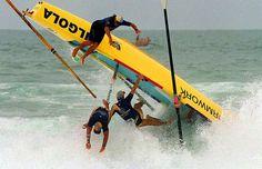 Surf Boat Crash. New South Wales Surf Life Saving Championships