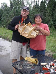 Skinboat Journal: Aleut Bent Wood Hat Making