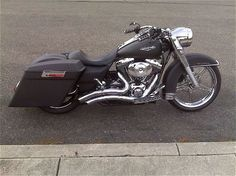 Similar to what I plan on doing with my Road King rebuild. Probably with less chrome though.