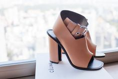 How great are these Celine heels? I am in love - love the colour combination and the chunky shape.