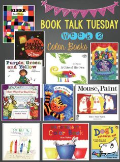 Book Talk Tuesday- My Favorite Color Books - Peace, Love, and First Grade