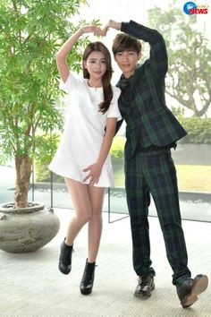 Aaron Yan and Tia Li /Fall in Love with Me