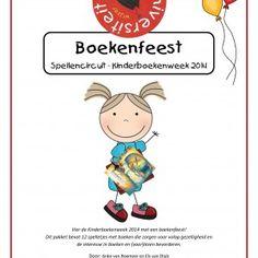 Vier de Kinderboekenweek 2014 met een boekenfeest! Dit pakket bevat 12 spelletjes met boeken die zorgen voor volop gezelligheid en de interesse in boeken en (voor)lezen bevorderen.