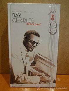JAZZ CHARACTERS. Nº 2. RAY CHARLES. LIBRO-BIOGRAFÍA / DOBLE CD. 50 TEMAS. PRECINTADO.