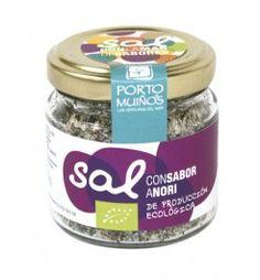 Sal con sabor a Nori.  Salt Flakes with Nori Seaweed.  #sof #comidaespañola #españa #galicia #sal #algas #nori #ecologico #gourmet #delicatessen #sof #spanishfood #spain #salt #seaweed #organic #bio #yummy #instafood #instagood Spanish Food Online   Comida Española