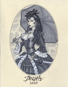 Lady Death - Lady Superheroes of 1887 (1 of 15)