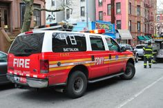 FDNY Battalion 48 Ford Expedition