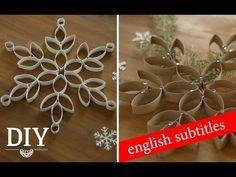 DIY: Tolle Weihnachtssterne aus Küchenrollen | Deko Kitchen - YouTube