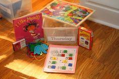 Quiet time activities for preschoolers