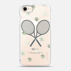 Snap iPhone 8 Case tennis love is part of Casetify Iphone Case Tennis Love By Marta Olga Klara Designed for a minimalist look and feel, while the extra lip protects your iPhone 8 screen and phone - Tennis Outfits, Nike Tennis Wear, Tennis Clothes, Tennis Rules, Tennis Tips, Tennis Gear, Sport Tennis, Cute Phone Cases, Iphone 8 Cases