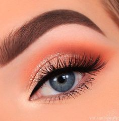 Peachy glam all day