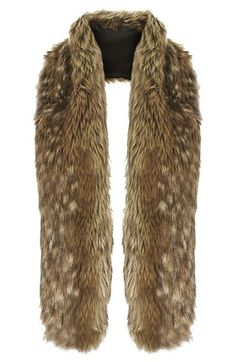 Free shipping and returns on Topshop Faux Fur Stole at Nordstrom.com. Instant glamour is achieved by adding a plush faux-fur stole to your look.
