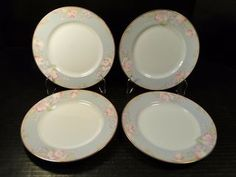 """Mikasa Braemar Salad Plates 7 1/2"""" L2031 Set of 4 