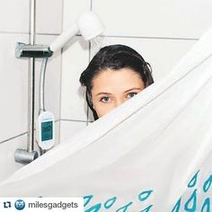 #Repost @milesgadgets with @repostapp  Amphiro A1 Shower Smart Meter http://amzn.to/1RFyi8l  Amphiro A1 displays the energy consumption of every shower you take and motivates water conservation and energy savings of 440 kWh/2245gallons/150 dollars per year. Showering is the second largest energy end use in the household  using far more energy than refrigeration cooking and lighting combined. Reducing hot water consumption is essential even in water-rich countries in order to reduce energy…