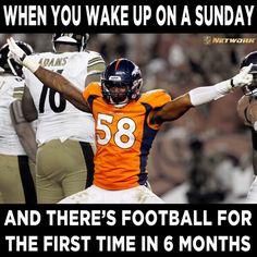 Football Sundays!!!!!!!