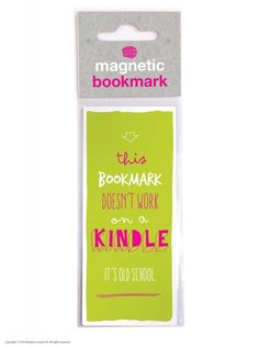 Old School Magnetic Bookmark: Amazon.co.uk: Office Products