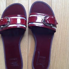 Burberry sandals Authentic Burberry sandals almost new Burberry Shoes Sandals