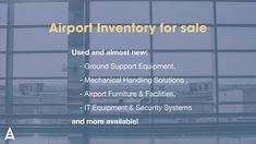 Airport Suppliers - We are partners to the aviation industry providing consultancy, manufacturing, airport development, aircraft maintenance, aircraft sales, aircraft supplies, airport construction, airport equipment suppliers, airport technology, airport terminal suppliers, airport ramp suppliers, airport furniture ground support equipment, ground handling, airport ramps, and a wide range of airport facilities and assets.  https://aviationcode.com