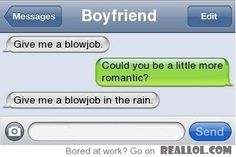 could you be a little more romantic....?