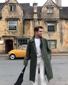 Find more hot stuff at my. Adam Gallagher, Khaki Coat, Winter Outfits, Winter Clothes, Outfit Of The Day, What To Wear, Suit Jacket, Street Style, Style Inspiration