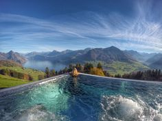 hotel villa honegg switzerland pool