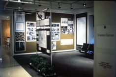 In 1969, the Musée des Arts Décoratifs invited five designers to participate in the exhibition, Qu'est ce que le design? (What is Design?)  Each participant represented his country.    The show included Joe Colombo (Italy), Charles Eames (USA), Fritz Eichler (Germany), Werner Panton (Denmark), and Roger Tallon (France).  The five participants submitted work from their offices as well as printed responses to a series of questions about the nature of the design process.