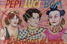 Ceesepe. Cartel de Pepi, Luci, Bom y otras chicas del montón (1980), de Pedro Almodóvar.