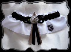 Los Angeles Kings Satin Wedding Garter