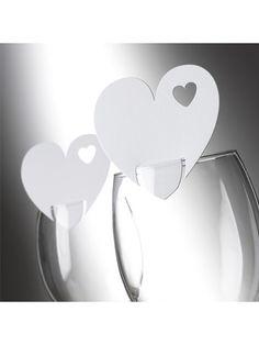Bordkort - Glaskort, hvidt hjerte, 10 stk. Purple Wedding, Floral Wedding, Diy Wedding, Wedding Bouquets, Rustic Wedding, Wedding Day, Silvester Diy, Wedding Decorations, Table Decorations