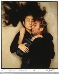 Yoko Ono & John Lennon ~ Photo by Annie Leibovitz