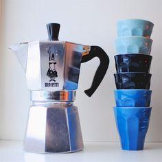 Bialetti espresso maker ♥coffee #coffee #cafe coffeecopia by claire lettice Coffee, Tea & Espresso Appliances - http://amzn.to/2iiPu7K #HomeAppliancesSketch