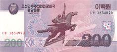 Motivseite: Geldschein-Asien-Nordkorea-원-200-2008