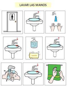 Визуальные подсказки --- туалет