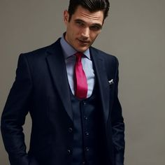 Slim fit mohair/wool suit by Burberry, London | Mens Mohair