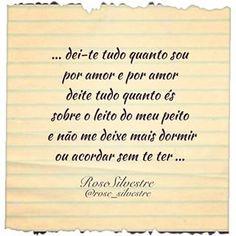 Por amor... Boa noite! #poesiatododia #poesias #poemas #poetas #escritores #versos #frases #reflexões #pensamentos #sentimentos #alma #amor #coração #boanoite